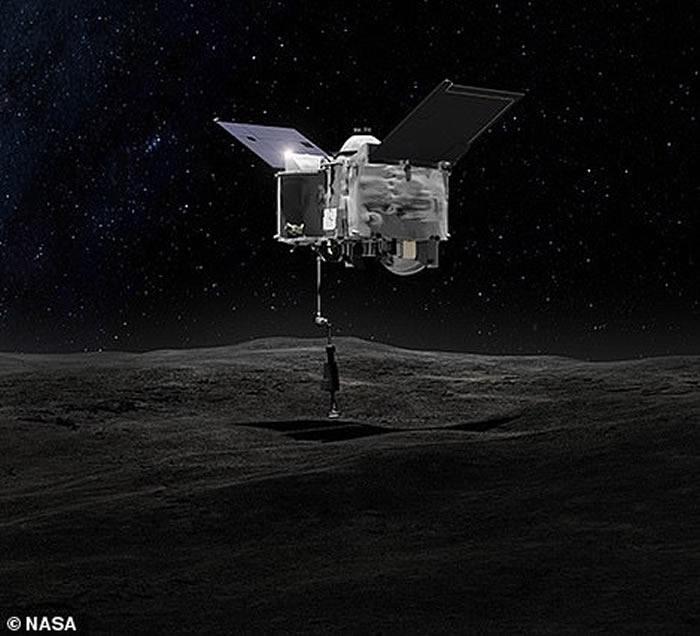 美国OSIRIS-Rex探测器将在今天到达小行星贝努鸟