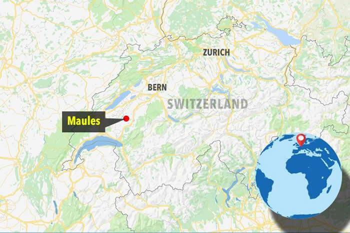 """不知是人是鬼?瑞士西部毛勒斯""""无脸军装幽灵""""Le Loyon戴面具在森林徘徊15年"""