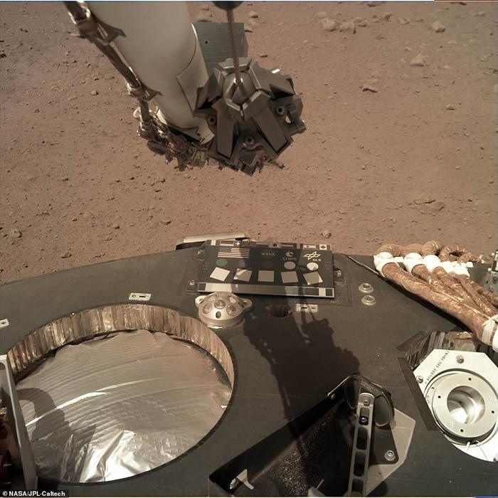 洞察号传回火星低频风声 人类首次听到