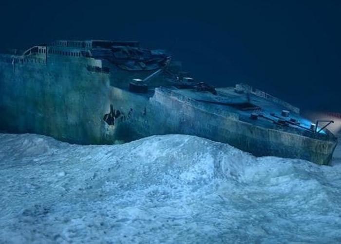 铁达尼号残骸在意故后发生多年才正式寻回。