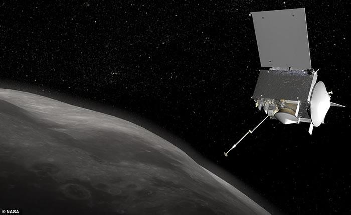 """美国探测器""""冥王号""""(OSIRIS-Rex)进入围绕小行星贝努(Bennu)的轨道"""