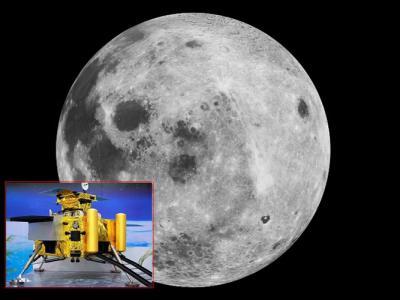 玉兔号抵达月面视频_中国首度公布月球着陆器嫦娥三号拍摄的月面高清照片 - 神秘的 ...