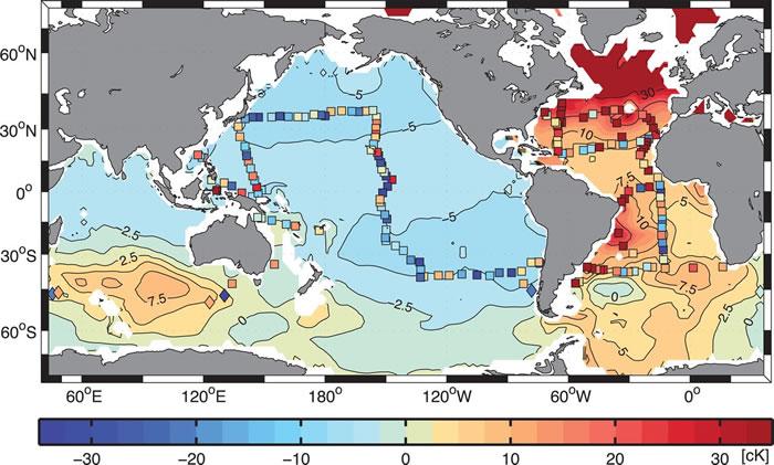 太平洋深部发现地球曾发生的一次长达数世纪之久的寒流证据