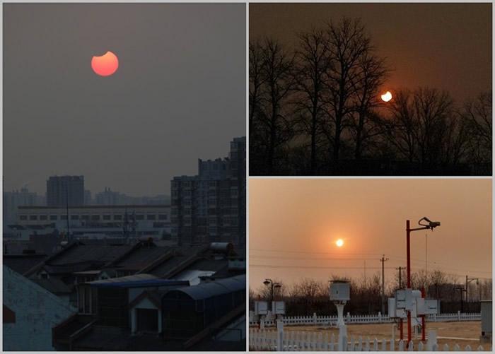 周日的日偏食,是今年全球3次日食奇观的首场。