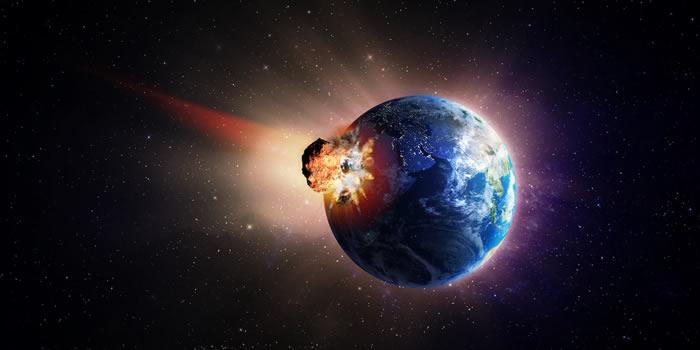 """导致恐龙灭绝:科学家模拟小行星""""希克苏鲁伯""""撞击地球后引发的海啸带来的灾难后果"""