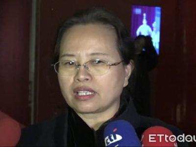 北京故宫博物院副院长任万平。(图/记者蔡浩祥摄)