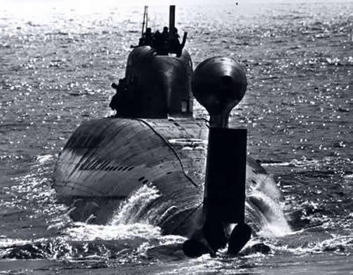 """""""冷战""""期间""""欺负""""美国舰队的苏联多功能鱼雷核潜艇K-324"""