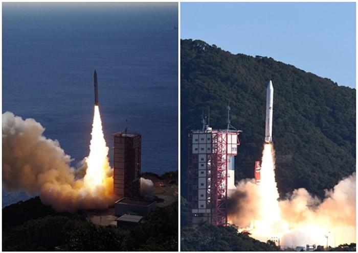 """日本宇宙航空研究开发机构发射小型火箭""""艾普斯龙4号"""" 可制造人工流星雨"""