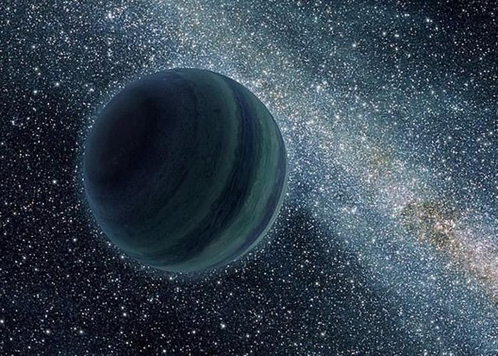 """研究指TNO神秘轨迹,未必前人所说的""""第九大行星""""轨道。图为""""第九大行星""""构想图。"""