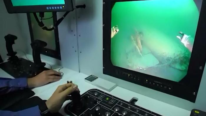 TRT Haber电视台:土耳其海军工程师在黑海海底发现三艘二战时期的德国潜艇