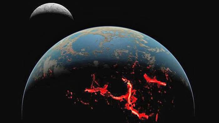 《地球与行星科学通讯》:月球岩石样本中发现44亿年前被撞出地球的石块