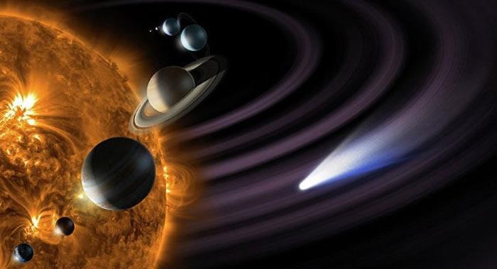 《天文学期刊》:一种可解释太阳系最偏远角落一些天体非正常轨道的新模型
