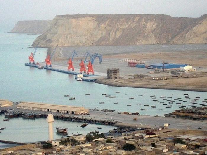 巴基斯坦港口属一带一路计划重要一环。