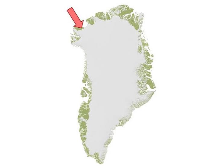 美国《地球物理研究通讯》杂志:格陵兰岛西北部冰盖下发现第2个巨大陨石撞击坑