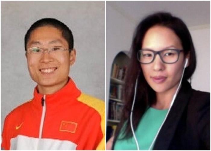 李大鹏(左)及边思恩(右)是其中2名入选的华裔志愿者。