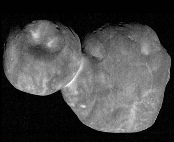 """美国宇航局公开小行星""""天涯海角""""最清晰影像"""