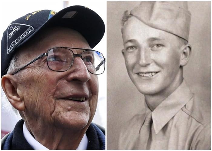 斯莫耶在二战时战绩彪炳。右图为他从军时照片。