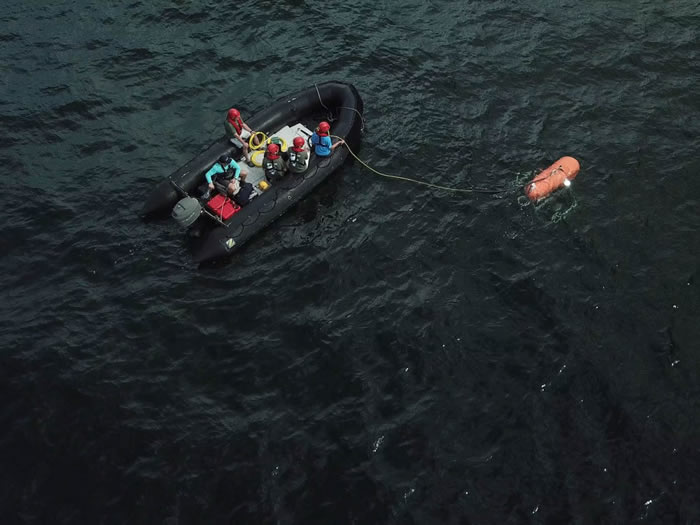 "NASA联合WHOI对""奥菲斯""号(Orpheus)深海潜艇进行测试"