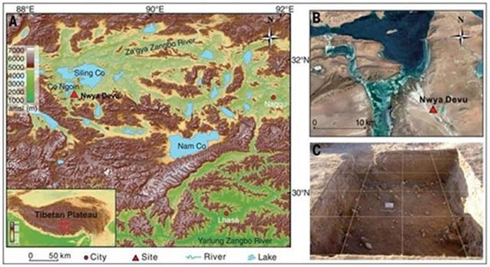 距今3-4万年前人类踏足高海拔青藏高原腹地
