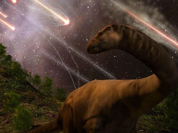 """恐龙""""没有受到气候变化的影响"""" 当小行星撞击时恐龙就很兴旺"""