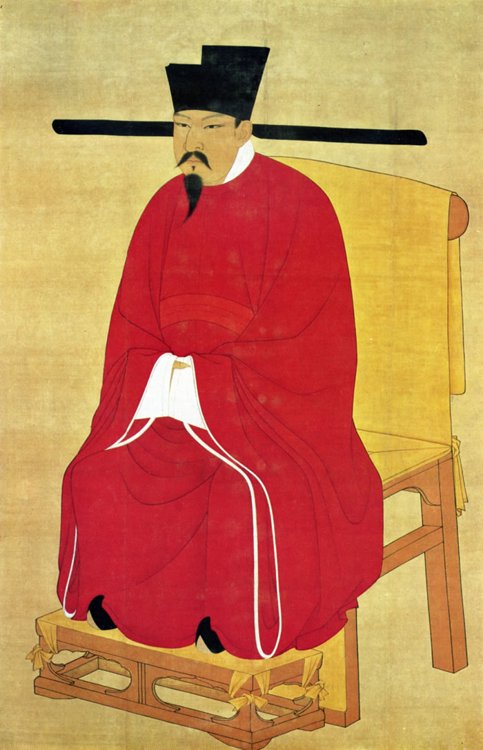 中国北宋第六代皇帝宋神宗赵顼,身家无法估计。