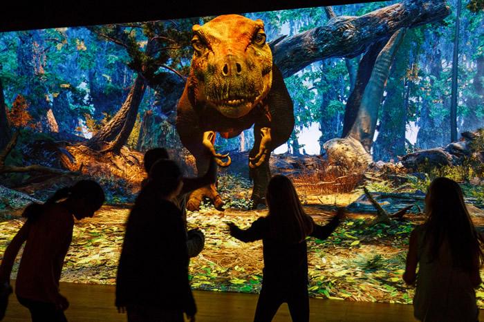 纽约美国自然历史博物馆举办霸王龙展览