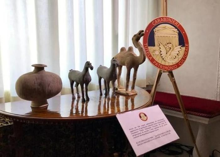意大利政府归还796件文物予中国 最古老达5000年历史