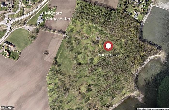 挪威考古学家用地质雷达在Borre自然保护区平原上发现一艘维京时期的船