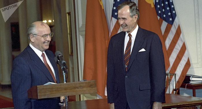 美国《国家利益》讲述1990年北约如何欺骗前苏联总统米哈伊尔∙戈尔巴乔夫