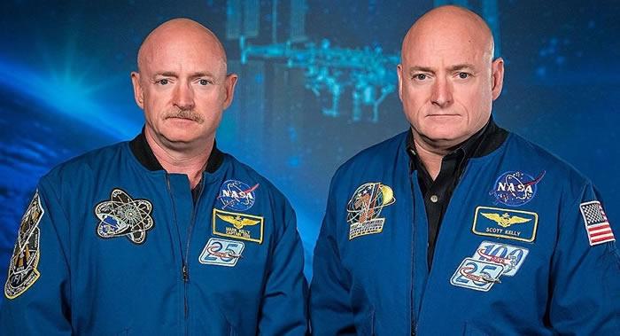 """美国国家航空航天局(NASA)""""双胞胎实验""""表明上太空会使人体产生细微生理变化"""