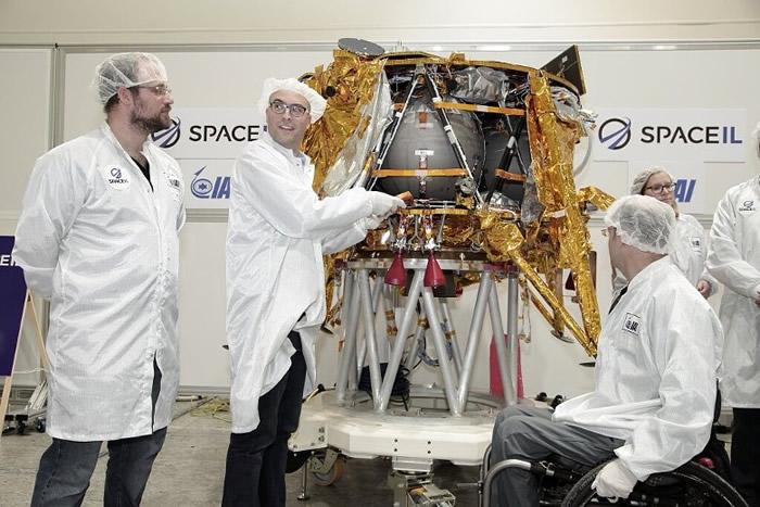 """""""创世纪""""由SpaceIL设计。"""