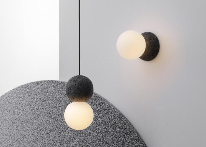 Origo系列灯具可以悬挂作吊灯,也可以装嵌在墙上成壁灯。