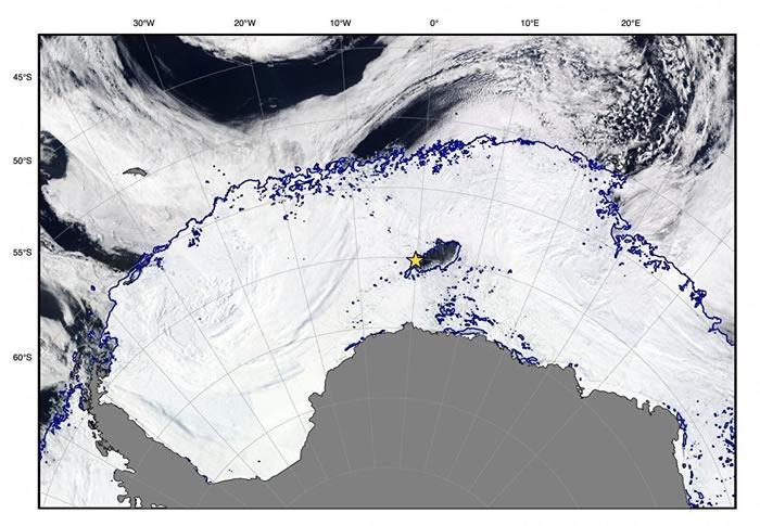 科学家找到南极洲附近拉扎列夫海冰面出现巨大冰洞(Maud-Rise)的原因