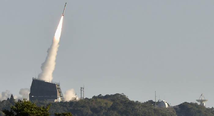 """日本""""星际科技""""民营公司成功发射该国首枚私营火箭MOMO"""