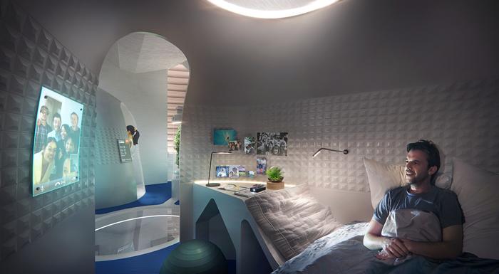 AI SpaceFactory通过3D打印在月球上或火星上的住房赢得NASA50万美元奖金