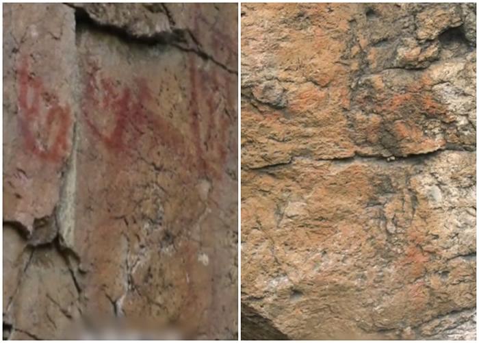黑龙江省大兴安岭发现神秘岩画 专家:距今7000年