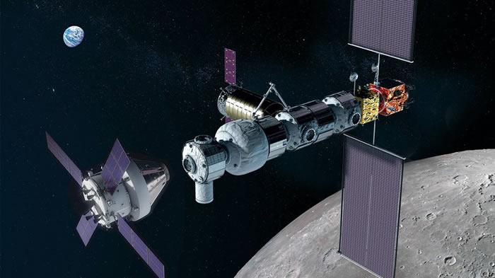 """月球轨道空间站""""门户""""的宇航员或配备特殊聚乙烯裹身垫以抵挡太阳耀斑爆发"""