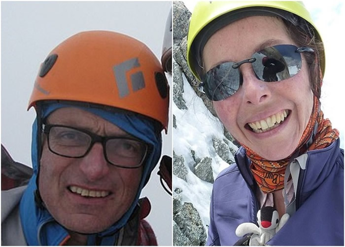 英国人莫兰(图左)和澳洲人麦坎斯(图右)失踪。