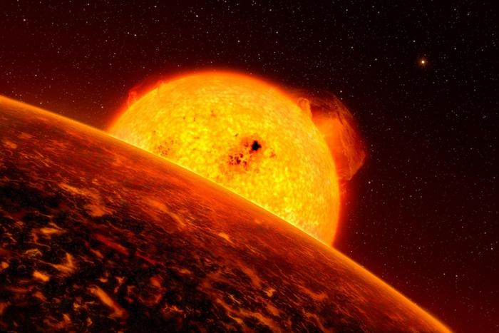 在这幅艺术家的想象图中,一颗系外行星绕着母恒星公转。 科学家运用新方法,重新分析美国航天总署(NASA)克卜勒太空望远镜(Kepler Space Telesc