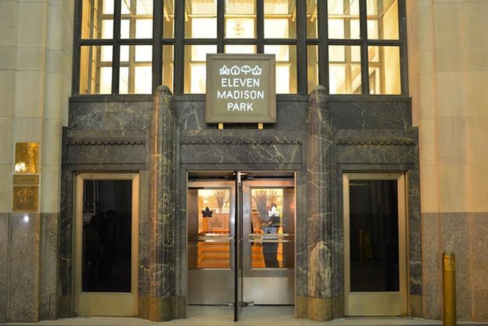 纽约的Eleven Madison Park(图)。