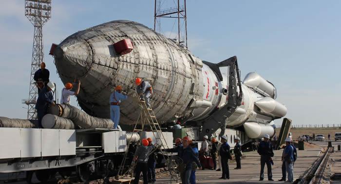 """俄罗斯计划于夏末进行""""质子-M""""运载火箭的下一次商业发射"""