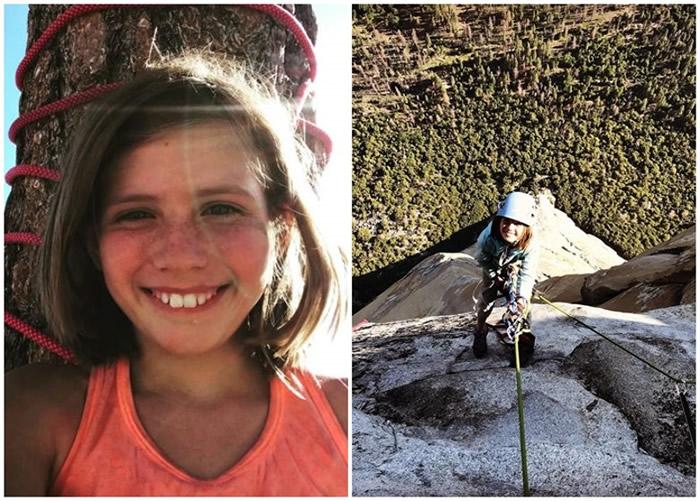 美国科罗拉多州10岁女童完成壮举攀上加州优胜美地国家公园酋长巨石(El Capitan)