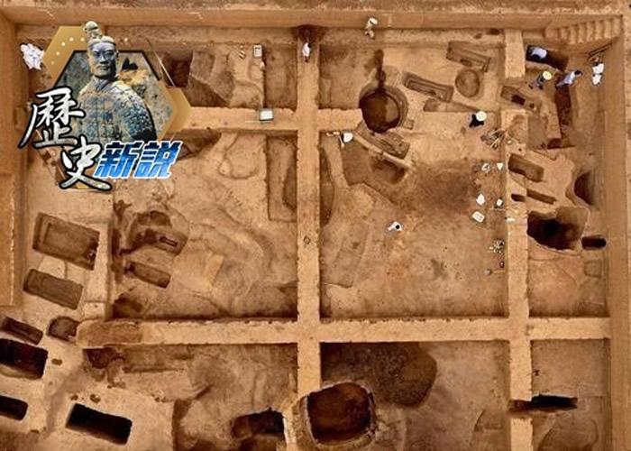 是次发现中起出多座商代古墓。