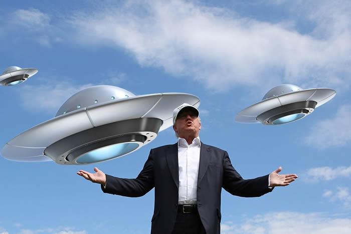 美国总统特朗普:即使海军战机机师发现UFO的报道增加 他亦不相信UFO真实存在