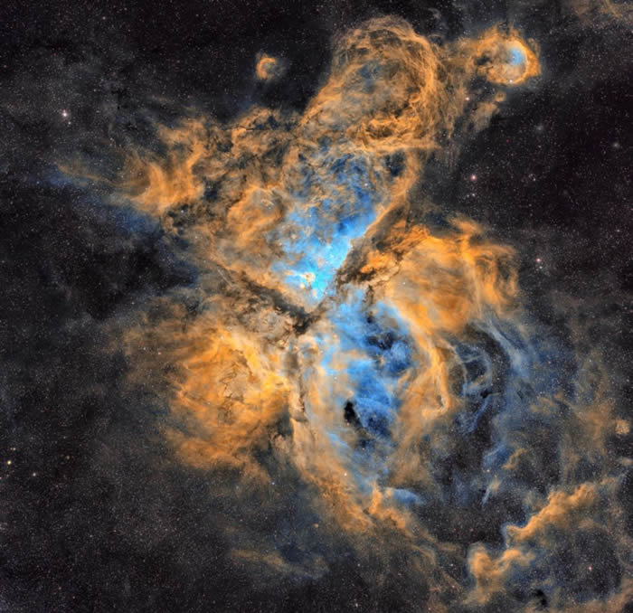 克罗地亚摄影师 Petar Babić的作品The Carina Nebula© 照片: PETAR BABIĆ/INSIGHT