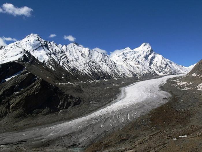 喜马拉雅山冰川融化加剧 人类活动造成的气候暖化导致