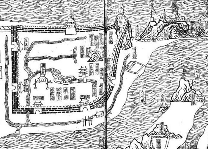 相关文献显示的定海县。