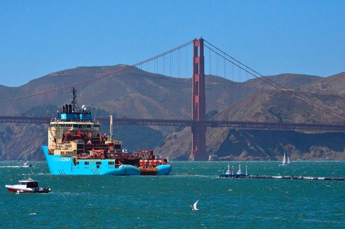 海洋吸尘机在太平洋垃圾带重启服务。