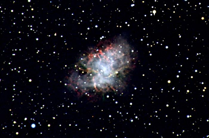 历史观测记录上具备最高能量的异常光子来自蟹状星云