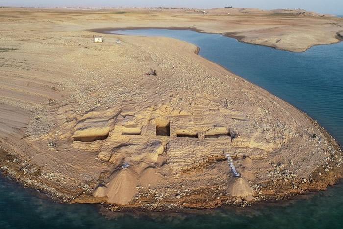 伊拉克水库干涸惊现3400年前古城 美索不达米亚文明的米坦尼王国现身
